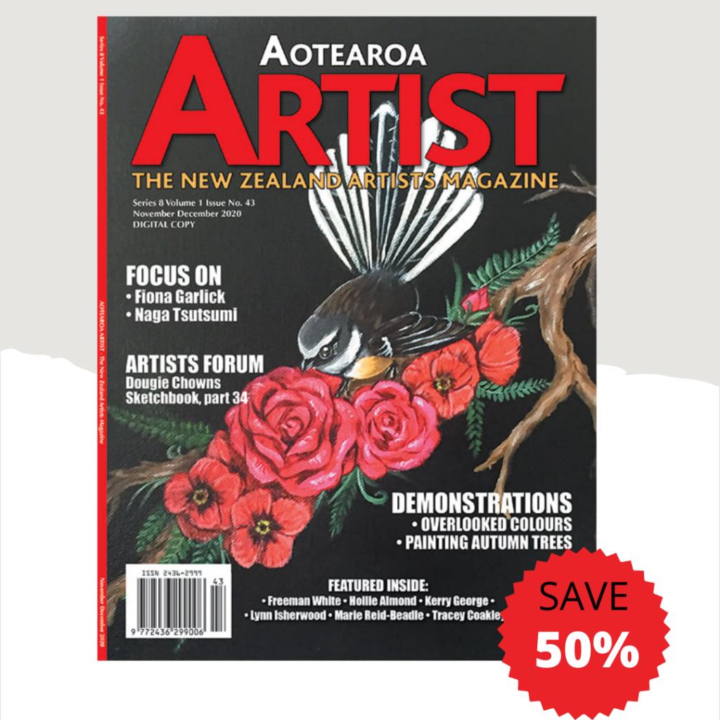 Aotearoa Artists – The New Zealand Artist Magazine